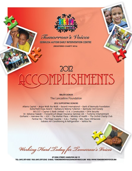 2012 Accomplishments Cover