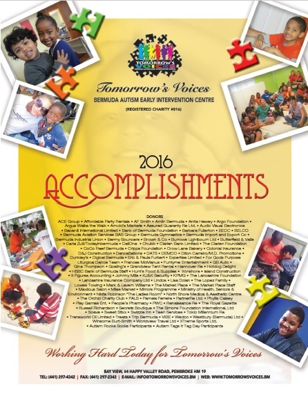 2016 Accomplishments Cover