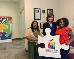 Visit To Grant A Gift Autism Foundation - Aug23'19
